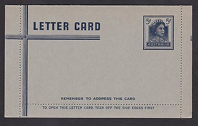 LM21) 1960 Lettercards QEII facing right.
