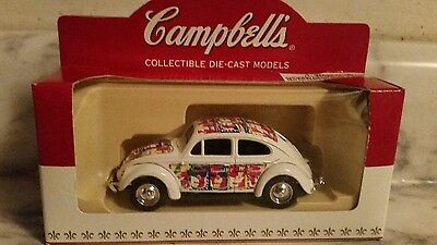 Campbell soup collectibles die-cast VW beetle