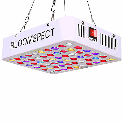 BLOOMSPECT 300W LED Grow Light Gardening Hydroponic Veg Flowering Plant Lamp