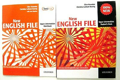 Oxford ENGLISH FILE NEW UPPER - INTERMEDIATE STUDENT'S BOOKS +WORKBOOK WITH CD