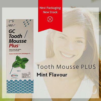 GC Tooth Mousse Plus - Free Shipping - New Australian Stock