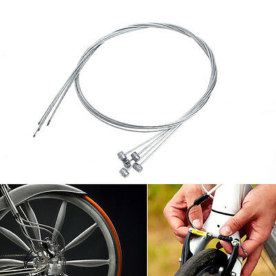 5/20pcs Mountain Bike Bicycle Cycle Brake Inner Cable Core Wire Line Barrel Ends