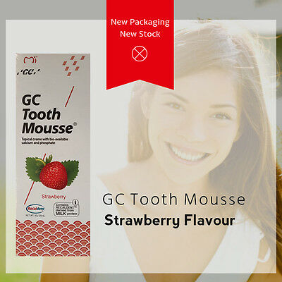 GC Tooth Mousse, Free Shipping, New Australian Stock, All Flavours Available