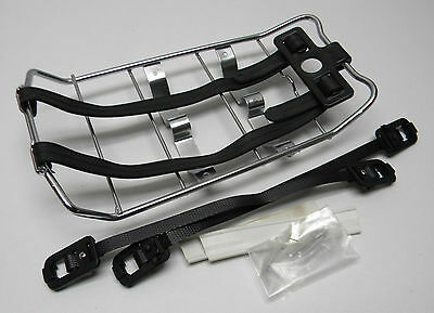 Piaggio Ciao PE / PX Rack Carrier to Fuel Tank - Silver (207)