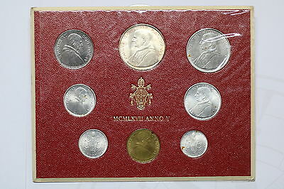 Vatican 1967 Mint Set With Silver A60 Cg6