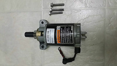 2002 MERCURY 15HP EL 4 Stroke, Starting Motor Assembly, 859168T, 1999-2006