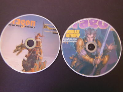 COMPLETE DRAGON MAGAZINE & ANNUALS & SPECIALS. GREAT  RPG FANTASY  on 2 DVDs