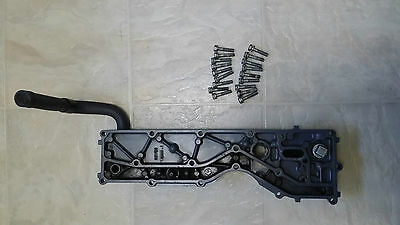 Yamaha 90hp 4 strok Exhaust Outer Cover, 67F-41113-01-1S, 2002-2004, 75hp-100hp