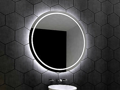 LED illuminated Bathroom Mirror London 70 cm | Modern | Wall mounted