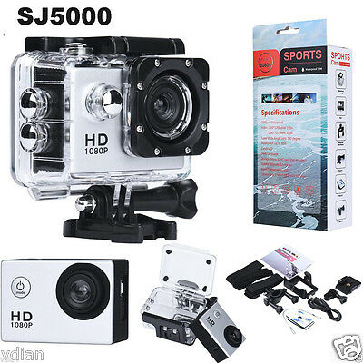 Waterproof 1080P Full HD SJ5000 Sports Camera 12MP Car Cam DV Action Camcorder
