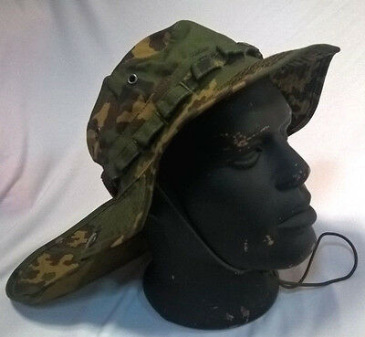 Russian Boonie Hat Neck Protection Detachable Tail Ripstop  SS Partizan Pattern