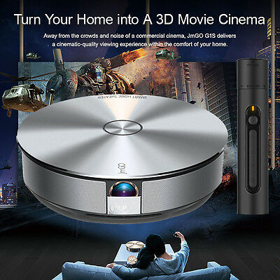 JmGO G1 Android Full HD 1080P Home Theater Projector 3D Wifi Bluetooth TV
