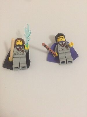 lego minifigures Harry Potter And Hermone