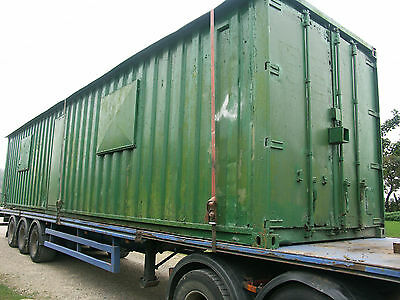 Shipping Container,office,storage, Welfare Unit, Windows, Conversion