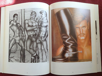 Tom Of Finland 1992 Gay Art Book Hard To Find!