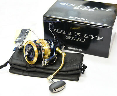 SHIMANO BULL'S EYE 9120  Spinning Reel From Japan