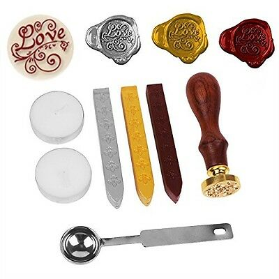 Stamp Seal Sealing Wax Vintage retro classic, NetBoat Antique Wax Seal Stamp Kit