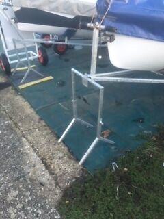 Dinghy Boat Stand - Galvanised Steel
