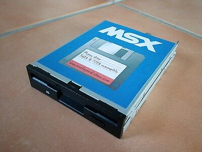 MSX drive 720ko (black) MSX2 Sony HB-F700 p/d/f/s  HB-500 philips NMS-8250 8280