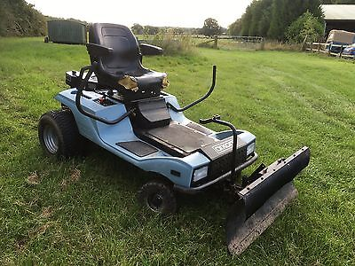 Dixon ZTR Ride On Mower With Snow Plough Zero Turn Tow Tractor