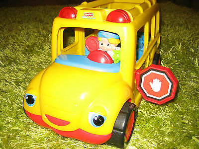 Fisher price little people musical yellow bus