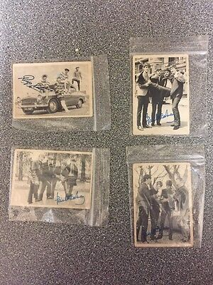 Beatles Chewing Gum Cards X4
