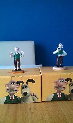 Coalport Wallace and Gromit Characters First Edition..