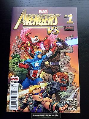 The Avengers Vs #1 - Marvel One Shot - Bagged & Boarded - First Print