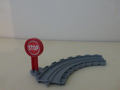 Thomas The Tank Take N Play curved track with stop sign COMBINE POSTAGE