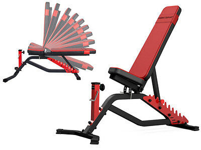 Banc De Musculation Ms-L101 Marbo-Sport Reglable Exercice Fitness Home Gym Body