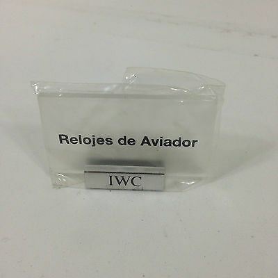 IWC plaque Aviador (S/R)