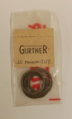 lot 10 joints de carburateur GURTNER réf.: 6159 Motobécane Terrot cyclo ancien