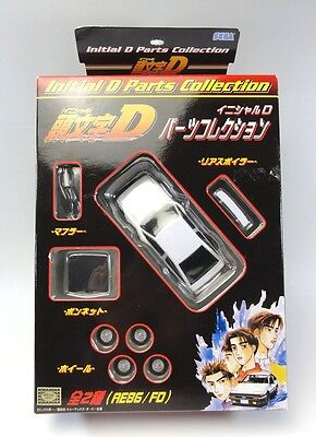 INITIAL D Parts Collection AE86/FD SEGA JAPAN
