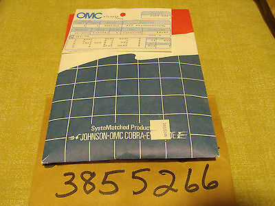 New Oem Omc Johnson Evinrude 3855266 Brush And Seal Kit For Tilt/trim