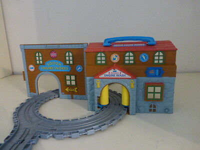 Thomas The Tank Take N Play Sodor Engine Wash and track