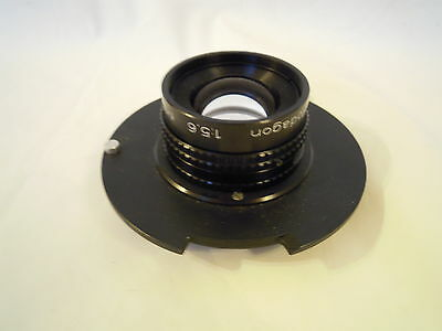 Rodenstock 150Mm F5.6 Enlarger Lens On De Vere 504 Flat Panel