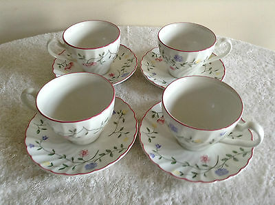 Summer Chintz Cups And Saucers Set Of 4 Johnson Brothers