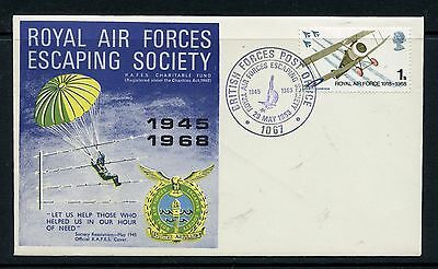 COVERS 1968 RAF Escaping Society 1945-68 bearing 1/- RAF stamp special cancel