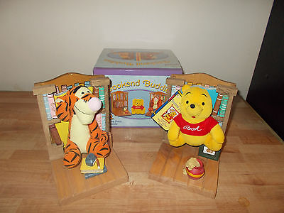 Winnie The Pooh Booked Buddies 2 Winnie The Pooh Bookends Boxed + Original Tag