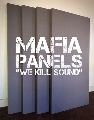 4x Mafia Panels- Large Acoustic Sound Proofing Panels- Complete Studio Set £125!
