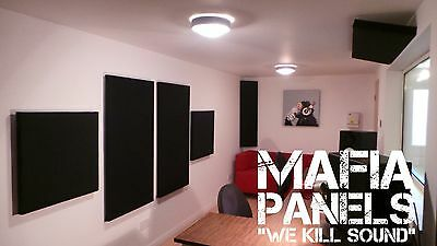 6x Mafia Panels- Acoustic Sound Proofing Panels- Complete Studio Set-  £155.00!