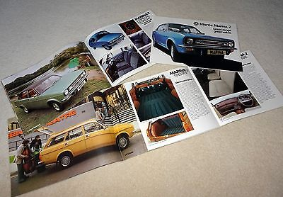 1978 Morris Marina 2 Brochure 1.3 To Estate And Gt