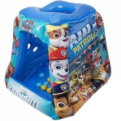 New Nickelodeon Paw Patrol Playland Inflatable Ball Pit Kids Toy Ages 2+