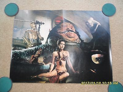 RETURN OF THE JEDI - collection of 4  original double-sided posters