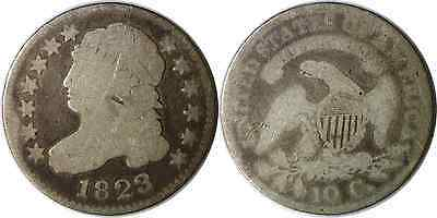 1823/2 10C Capped Bust Dime Small E's About Good