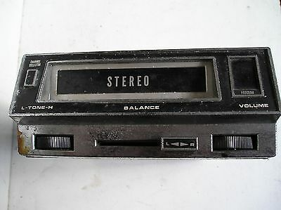 Car 8 Track Stereo Tape Player [ Untested]