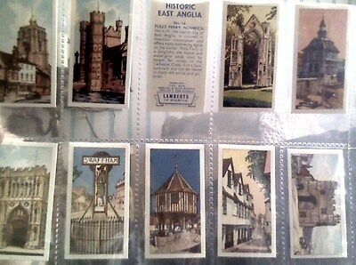 Historic East Anglia,Lamberts Tea cards,full set