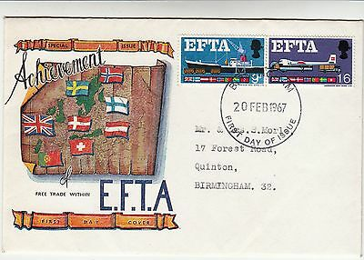 EFTA First Day Cover
