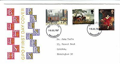 GPO First Day Cover British Painters 1967