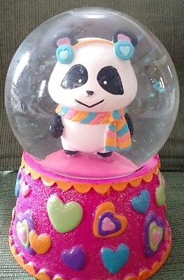 Claire's Holiday Panda Snowglobe  2009